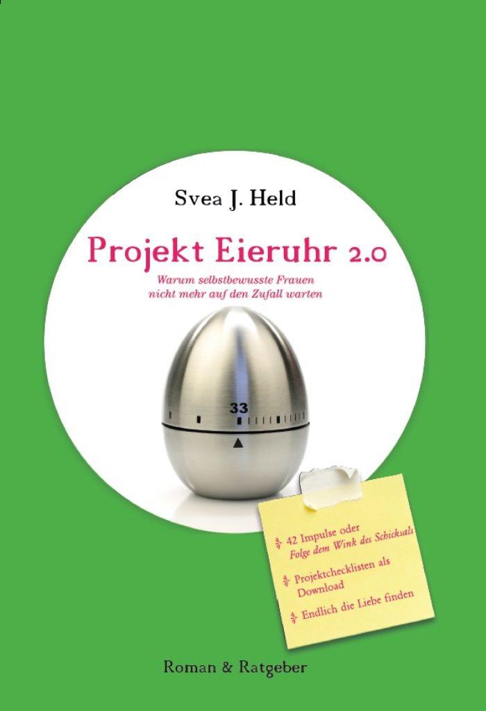 Ein Buchtipp für Singles ist der Ratgeber-Roman Projekt Eieruhr 2.0 der zum Mitmachen anregt.