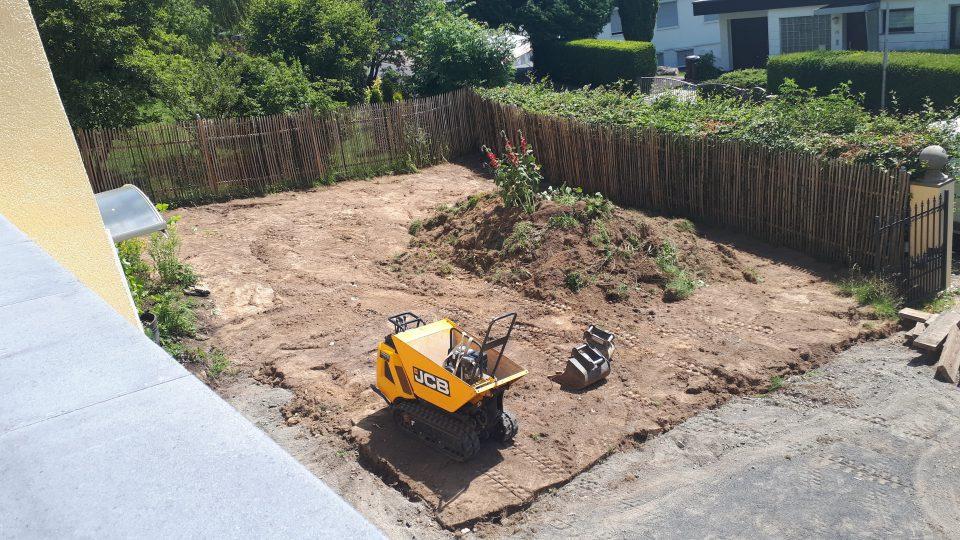 Der Gartenbau hat begonnen