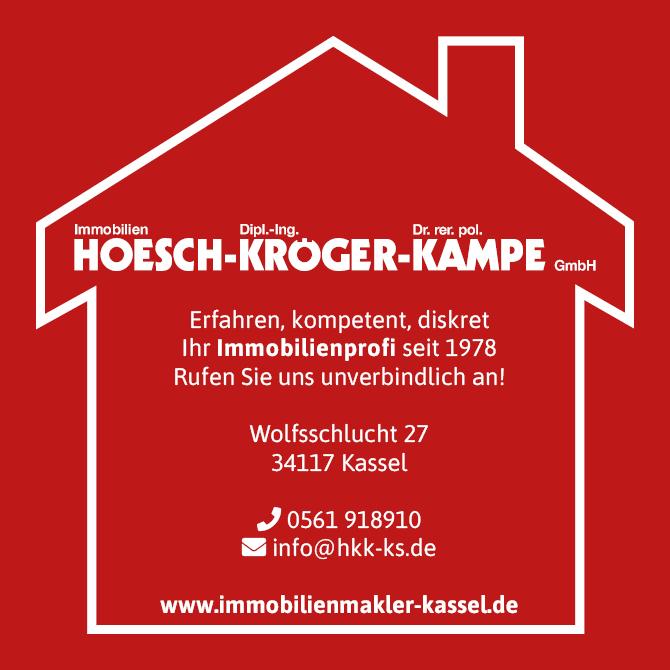 Gute Erfahrungen mit dem Immobilienmakler Hösch Kröger Kampe in Kassel, der das 50er Jahre Haus vermittelt hat.